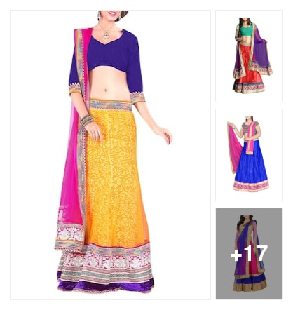 Fantastic   A-Line  Lehengas. Online shopping look by lumbu