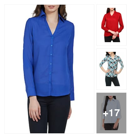 Good-looking shirts for girls. Online shopping look by SHYAMALA