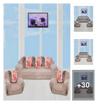 Sofa sets. Online shopping look by senika