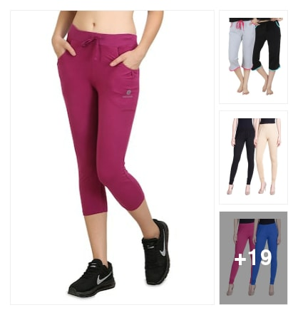 Colorful capris leggings for girls. Online shopping look by SHYAMALA