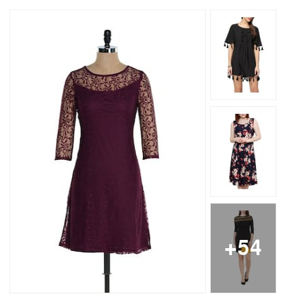 Nice collection  dresses. Online shopping look by sunitha