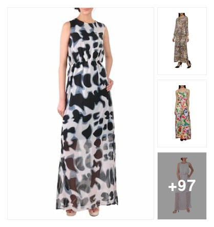 Best 100 multicolored dresses. Online shopping look by Dr.