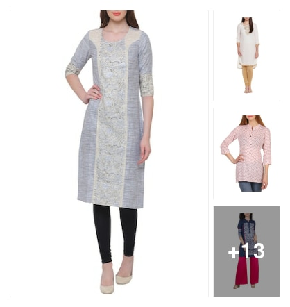 Cotton kurta. Online shopping look by Shona