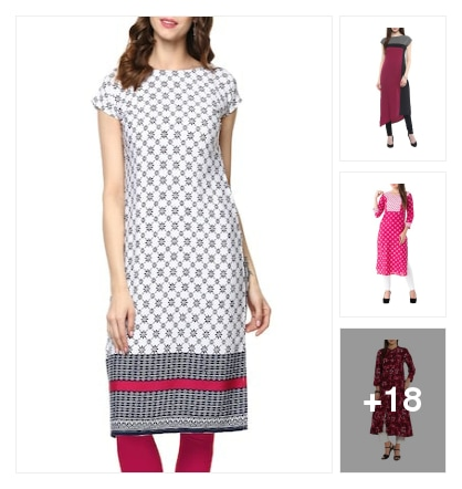 Kurtas and kurtis . Online shopping look by keerthik837