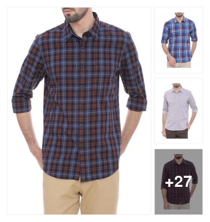 Eminent  Cotton casual Shirts. Online shopping look by krishna