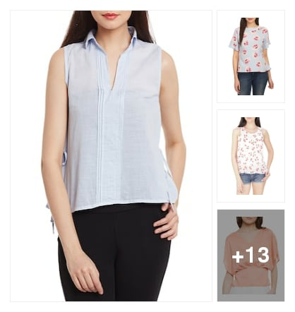 Tops for women. Online shopping look by Tejaswi