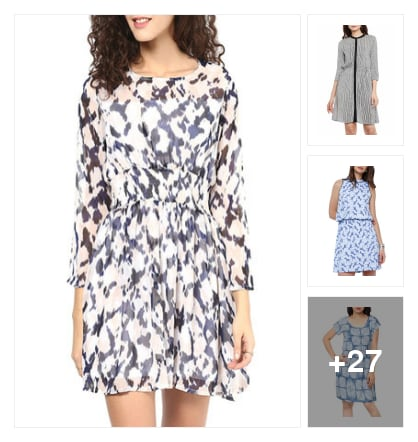 Blossome dresses. Online shopping look by Pari