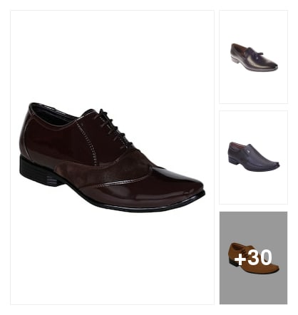 Formal shoes. Online shopping look by Sree reddy