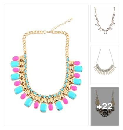 Beautiful neckpieces for women's. Online shopping look by SHYAMALA