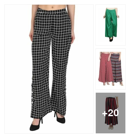 Palazzos collection. Online shopping look by lahari