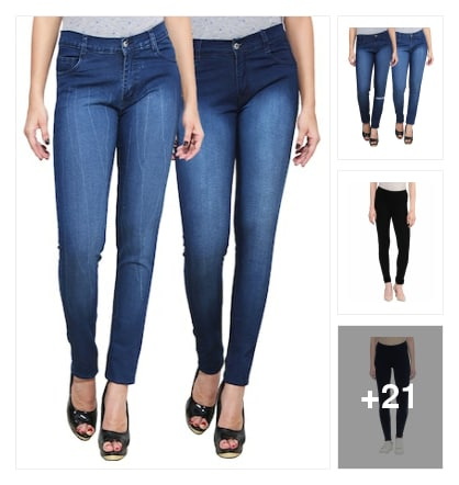 Jeans and jeggings. Online shopping look by keerthi
