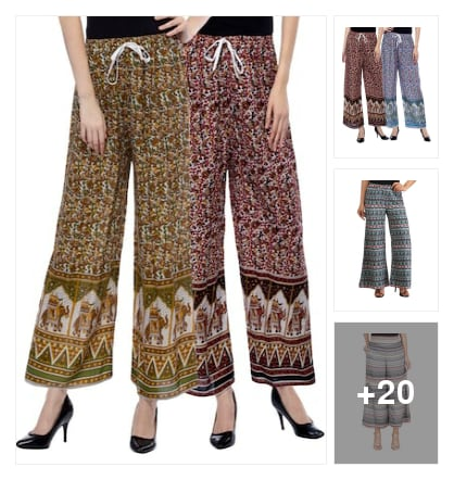 Palazzos. Online shopping look by keerthi