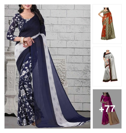 Sarees under budget. Online shopping look by jinglejingle
