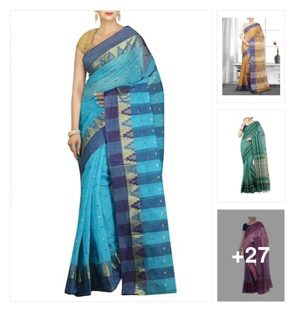 Wonderful hand loom sarees for women's. Online shopping look by SHYAMALA