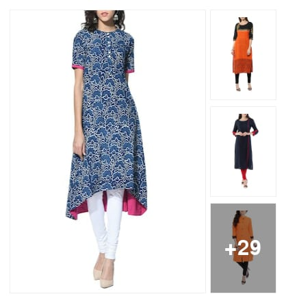 kurta. Online shopping look by shivam tiwari