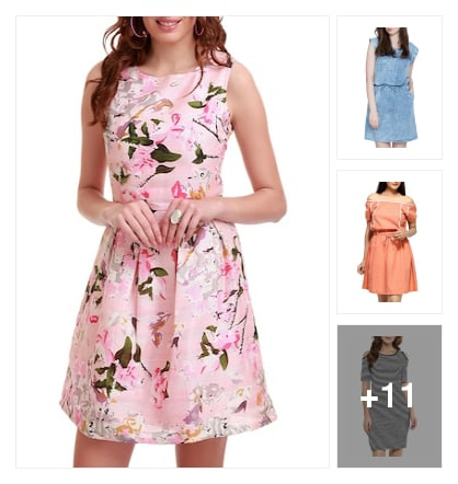 Top picks : Refreshing summer dresses . Online shopping look by Pankh