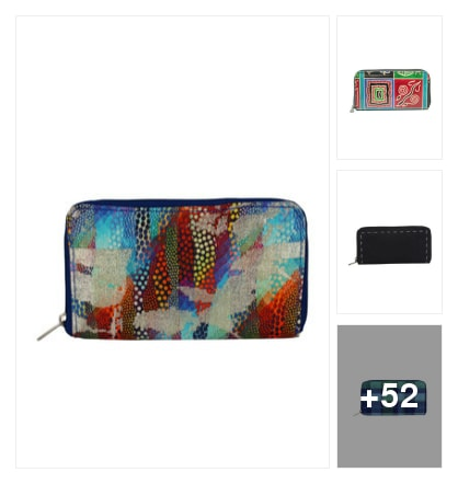 Wallets under 999. Online shopping look by Teju