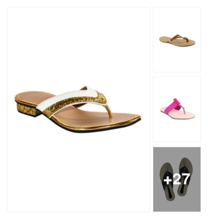 Favourite pick :- comfy sandals. Online shopping look by Kinki