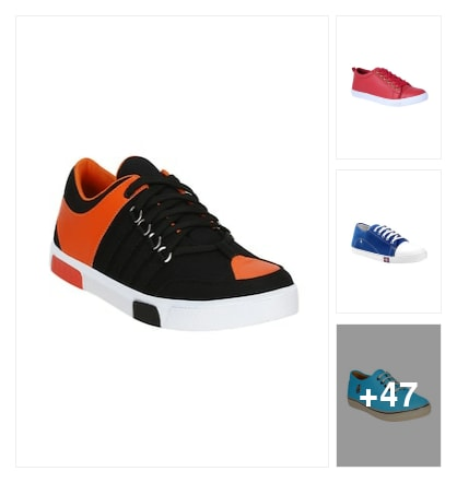 Sneakers in summer hues....... Online shopping look by Varnika