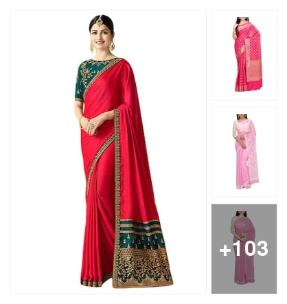 Bestselling and beautiful pink sarees   at huge discounts here  . Shop from my exclusive collection 🌹🌱🌹🌱. Online shopping look by Abhijit