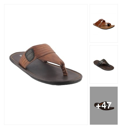 Slippers for men. Online shopping look by meenu