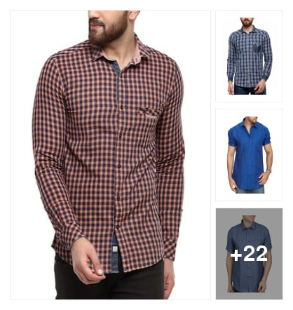 Good looking Shirts. Online shopping look by raj