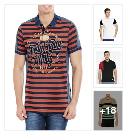 Good looking and comfortable tees. Online shopping look by raj