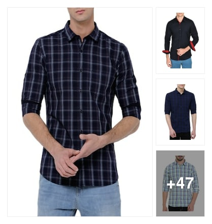 Shirts. Online shopping look by yogesh