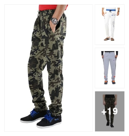 Track pants for Sports men's. Online shopping look by Katasani Govardhan
