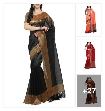 Fabulous  Sarees  for Partys. Online shopping look by Reethu