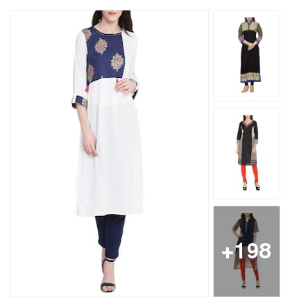 Letest Kurt's only on limeroad for the use. Online shopping look by chinni