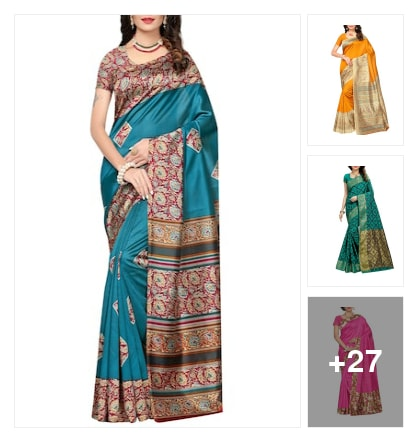 Amazing   Mysore  Silk  Sarees. Online shopping look by Reethu