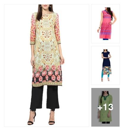 Kurtas. Online shopping look by P