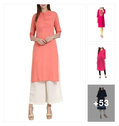Beautiful  bright dresses. Online shopping look by suresh