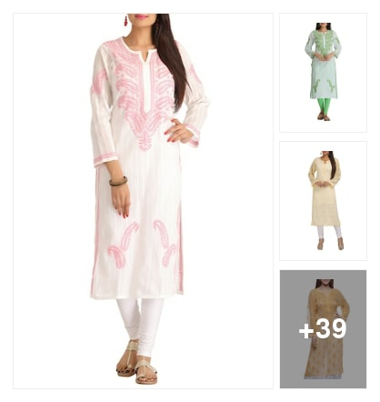 Cozy summer kurtas. Online shopping look by kalpana