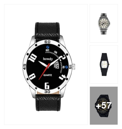 excellent watches for men. Online shopping look by maga