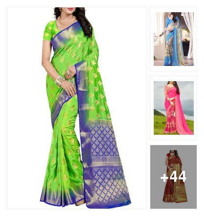 Chitramaasam sarees. Online shopping look by Sunitha