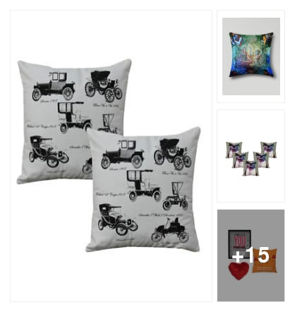 Cushions and throws. Online shopping look by keerthik837
