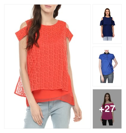 Layered tops. Online shopping look by Ruchika