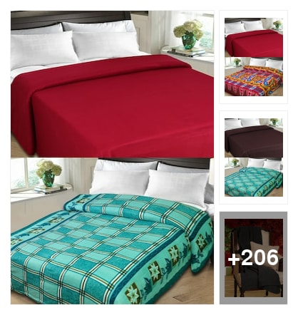 Colourful bedsheets. Online shopping look by chinni