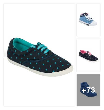 Classical casual shoes for women. Online shopping look by kishore