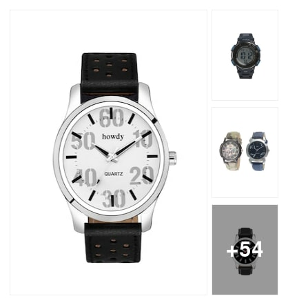 excellent watches for men. Online shopping look by sujatha