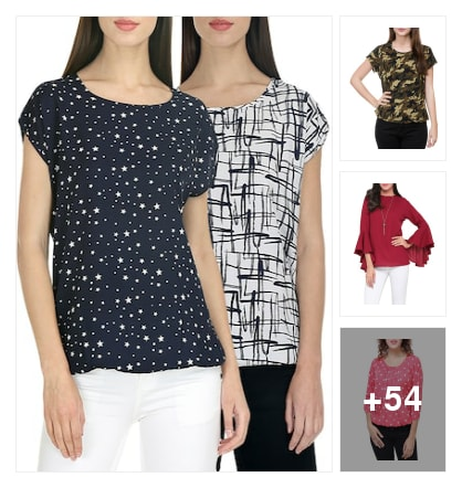 amazing tops collection. Online shopping look by sujatha