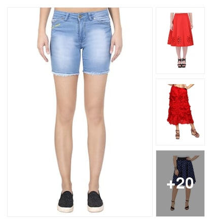 Skirts for women. Online shopping look by lahari