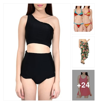 Swim wear for swimming purpose. Online shopping look by sangeetha
