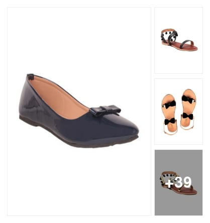 Flat Sandals Of Gnist!!. Online shopping look by mansi