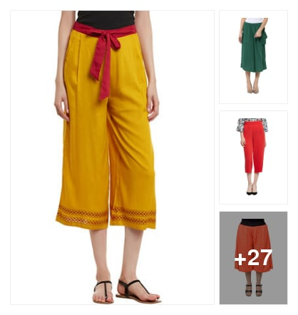 For Hot Summer? Have Cool Culottes!!!!!. Online shopping look by Devi