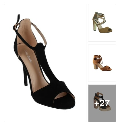 CLOSE BACK SANDALS. Online shopping look by Ruppi
