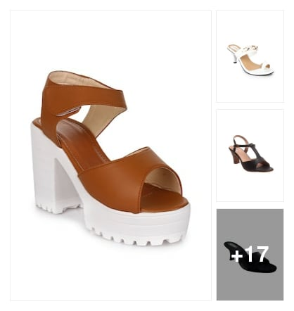 Sandals . Online shopping look by keerthi