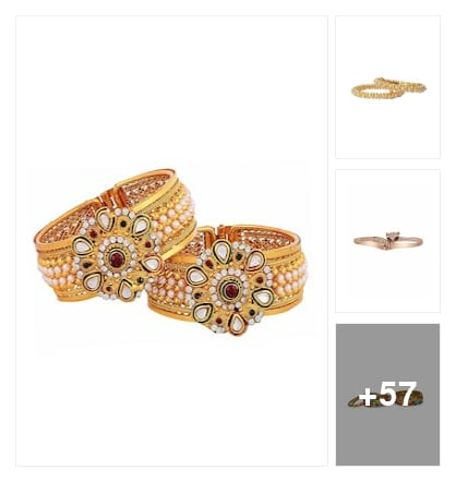 maching bangles. Online shopping look by jyothi